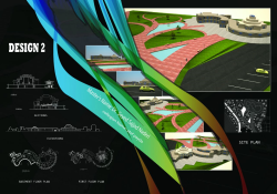 نقشه طراحی مرکز فرهنگی