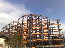 پاورپوینت اجرای ساختمان های فلزی در 62 اسلاید به صورت کاملا تصویری با ذکر جزئیات و معایب جوشکاری